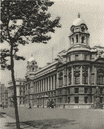 LONDON. British War Office in Whitehall 1926 old vintage print picture